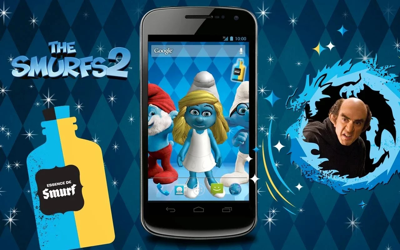 The Smurfs 2 3d Live Wallpaper 2014 The Smurfs 2 3d Live Wallpaper Android Apk Android