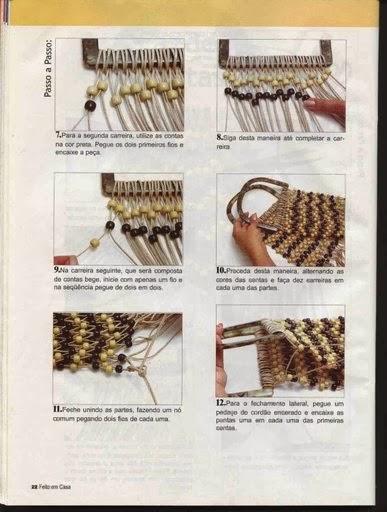 macrame, nudos, bolsa, bolsos, manualidades, diys,knots