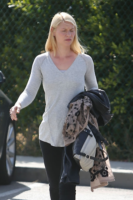Actress, @ Claire Danes out in Beverly Hills