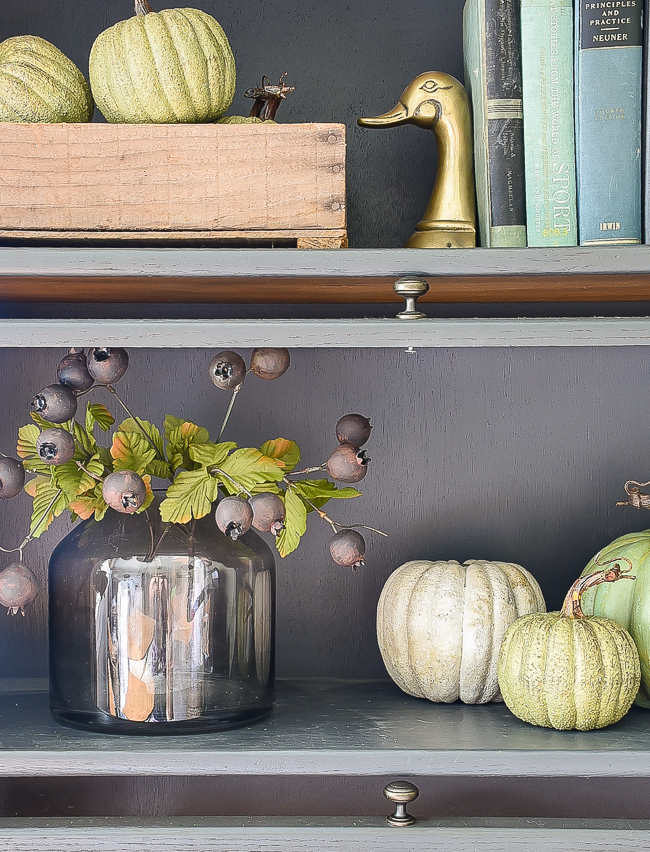 Updating and decorating with Dollar Tree fall decor