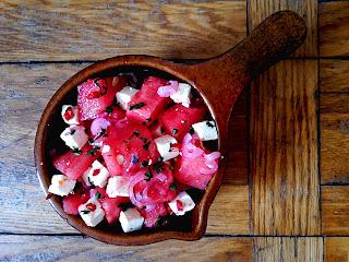 zdjęcie: sałatka z arbuza