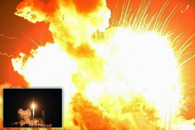 Chỉ 6 giây sau khi rời bệ phóng tên lửa của Mỹ nổ tung