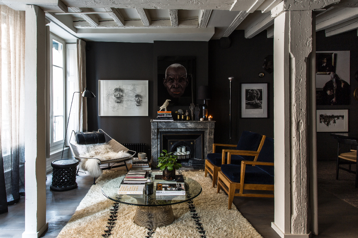 dark shades and dramatic atmosphere in lyon by maison hand