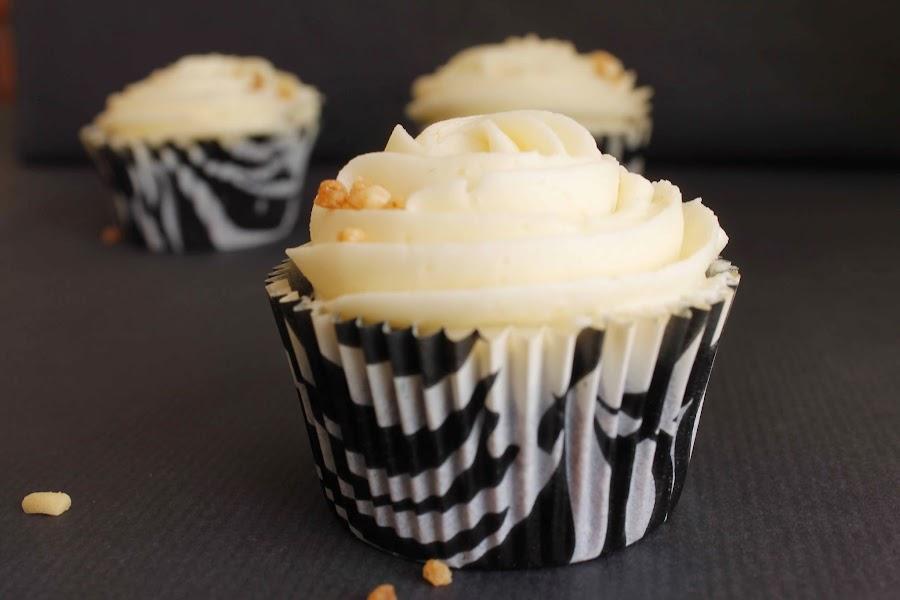 Receta Cupcakes de chocolate y buttercream de crema de almendras