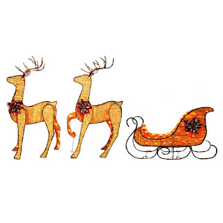 lowes holiday decor sale last few days - Lowes Christmas Decorations Deer