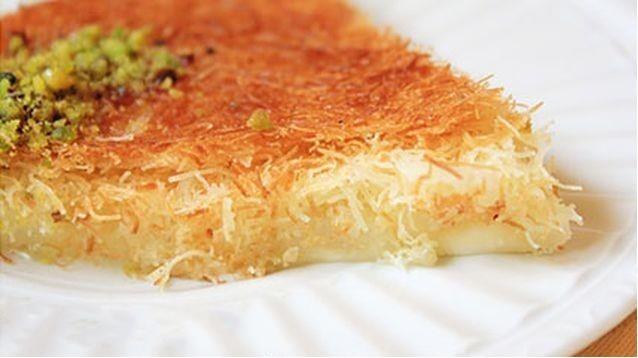 طريقة عمل الكنافة بالجبن في المنزل