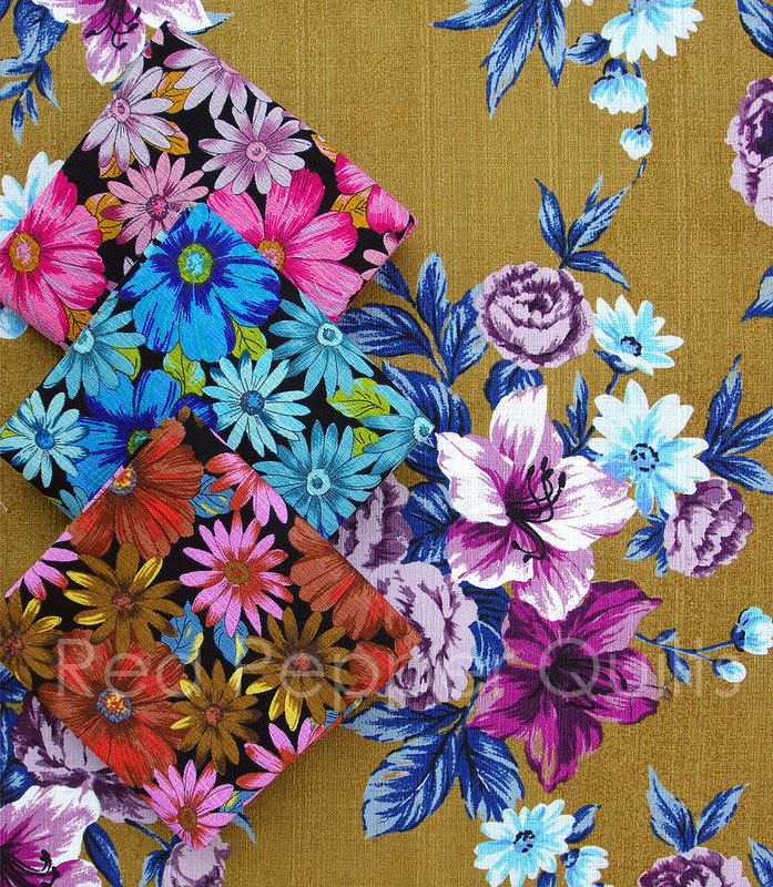Outback Wife by Gertrude Made for Ella Blue Fabrics | © Red Pepper Quilts 2016