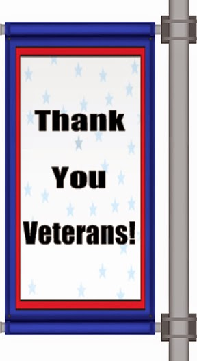 Veteran's Day Pole Banner | Banners.com