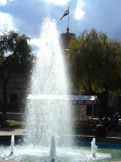 Chafariz da Plaza del Regozijo, Cusco