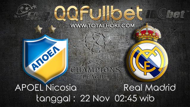 PREDIKSIBOLA - PREDIKSI TARUHAN BOLA APOEL NICOSIA VS REAL MADRID 22 NOVEMBER 2017 (UEFA CHAMPIONS LEAGUE)