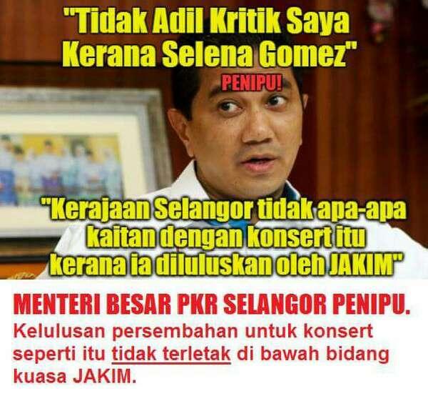 MB Selangor Dan Pemimpin PKR Kantoi MENIPU Dan Memfitnah JAKIM
