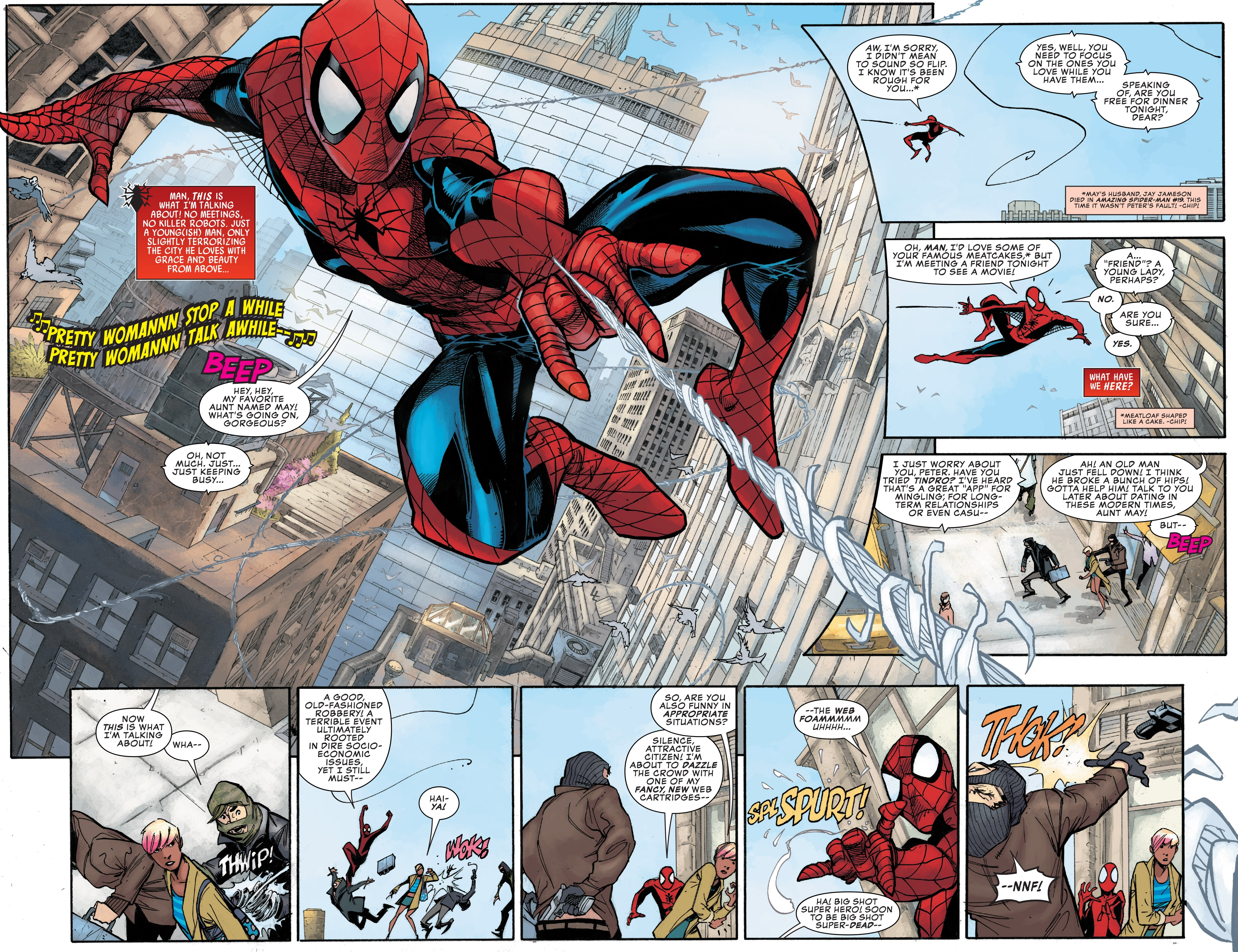 Read online Peter Parker: The Spectacular Spider-Man comic -  Issue #1 - 4