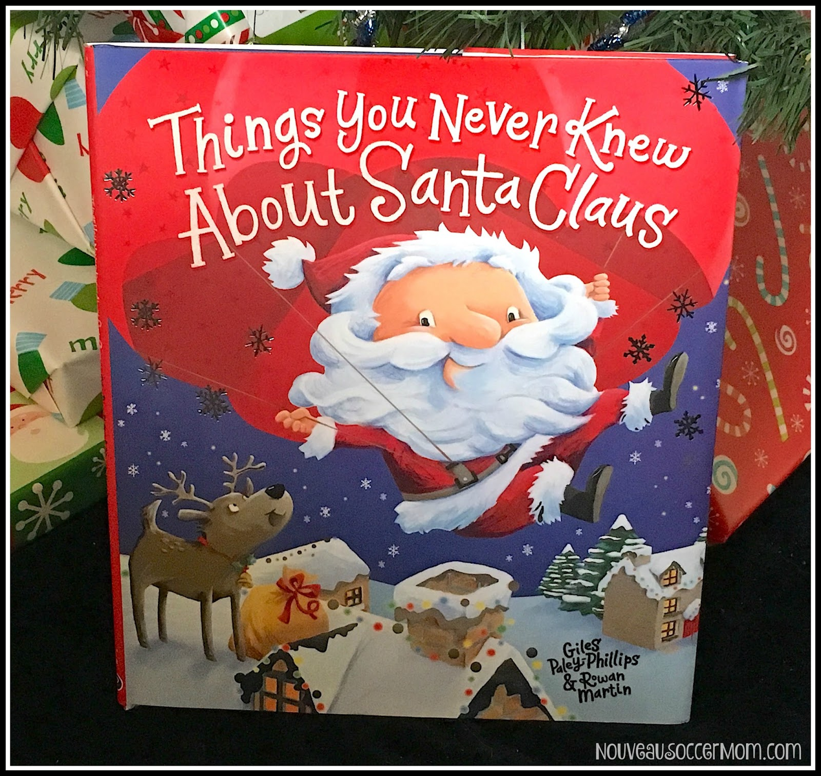 things you never knew about santa claus could easily be one of our new favorites what do you know about santa he lives at the north pole he has reindeer - Books About Santa Claus 2