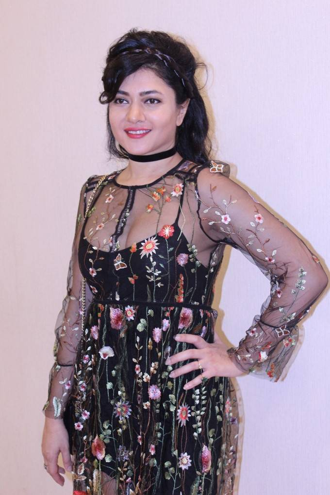 Sonal Sehgal At Mantostaan Trailer Launch Stills