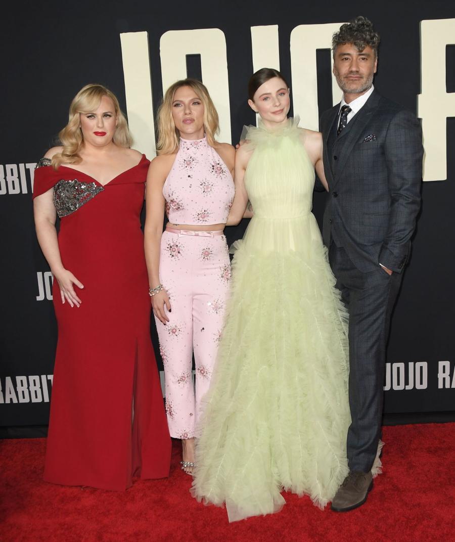 Scarlett Johansson at JoJo Rabbit Premiere in Los Angeles