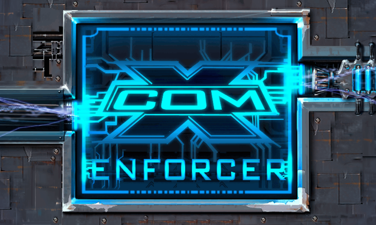 X-Com Enforcer Title Screen