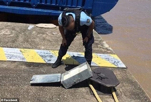 Cocaine stash Discovered in ships used to Transport rockets