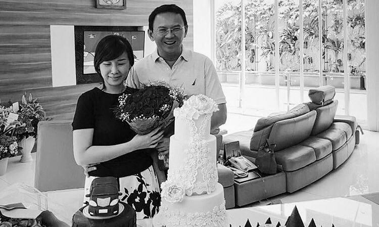 Swet Swet, Di Hari Ultah Istrinya Yang Ke 41, Ini Yang Ahok Lakukan