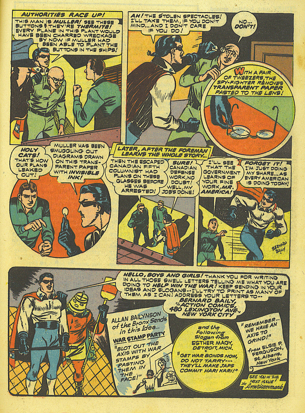 Read online Action Comics (1938) comic -  Issue #52 - 45