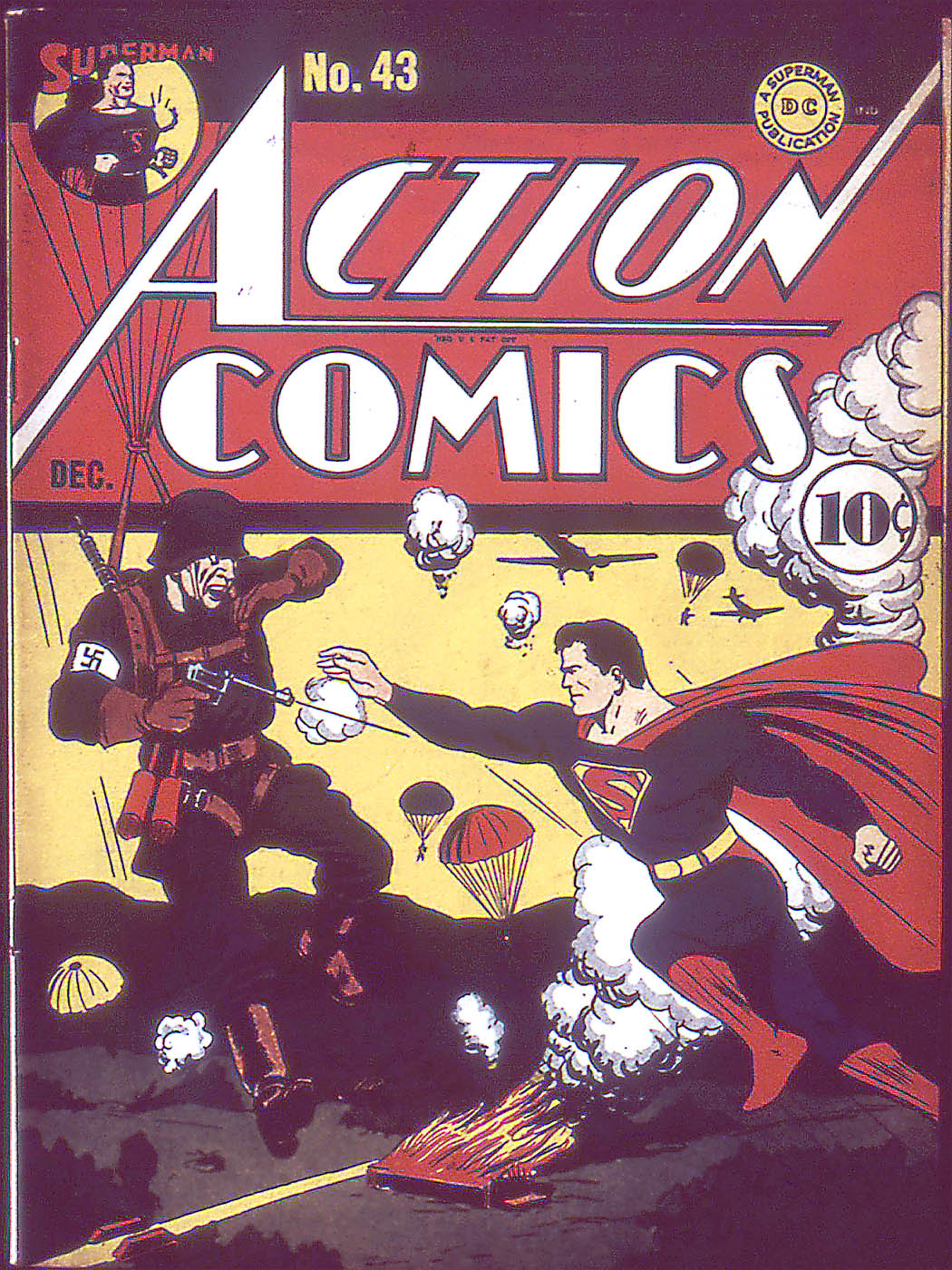Read online Action Comics (1938) comic -  Issue #43 - 1