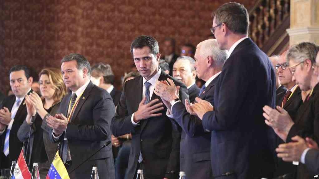 Guaidó es reconocido por el Grupo de Lima como Presidente de Venezuela / AP