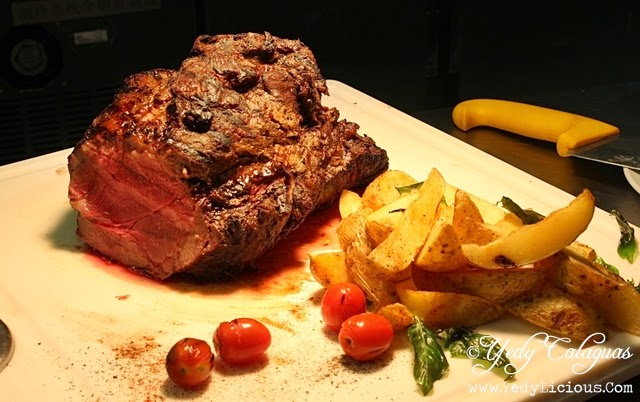 Roast Beef United Taste of America at F1 Hotel Manila