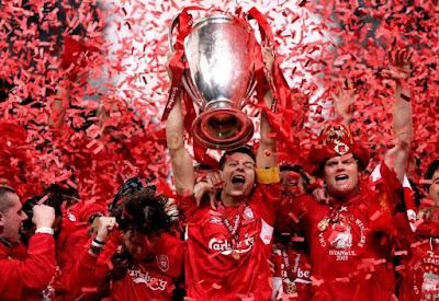 Liverpool, Daftar 5 besar klub yang menang liga champions