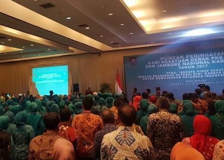 "Jokowi Minta Ibu-Ibu PKK Tidak Jadi ""Kompor"" Jelang Pilpres 2019"