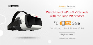 One Plus One VR Headset 3D For Rs.1