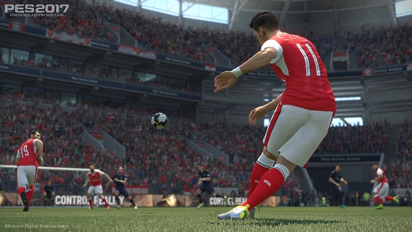 Pro Evolution Soccer 2017 PC Free Download
