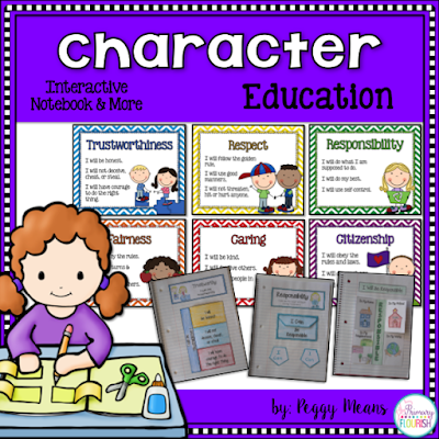 Character Education is the most important thing we teach our students because their character will effect the very person they become.  This is a great unit that will help you develop a safe, caring classroom community. Students will learn empathy as they learn about each of these character qualities and will be totally engaged as they learn how to develop strong character.