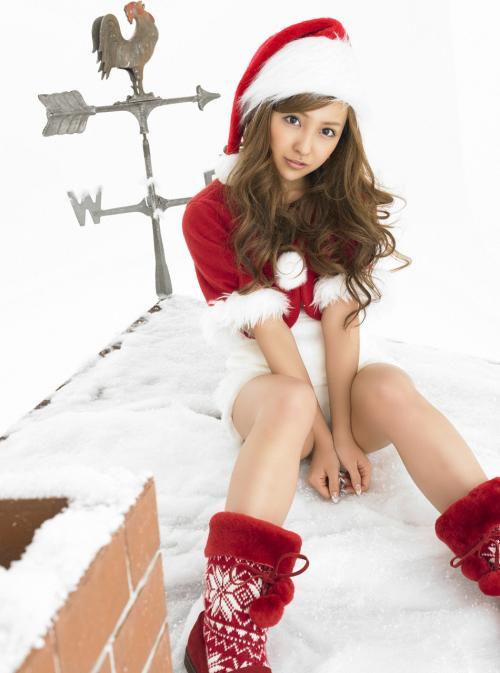 Pachinko Blog Bellezze giapponesi in posa per Natale