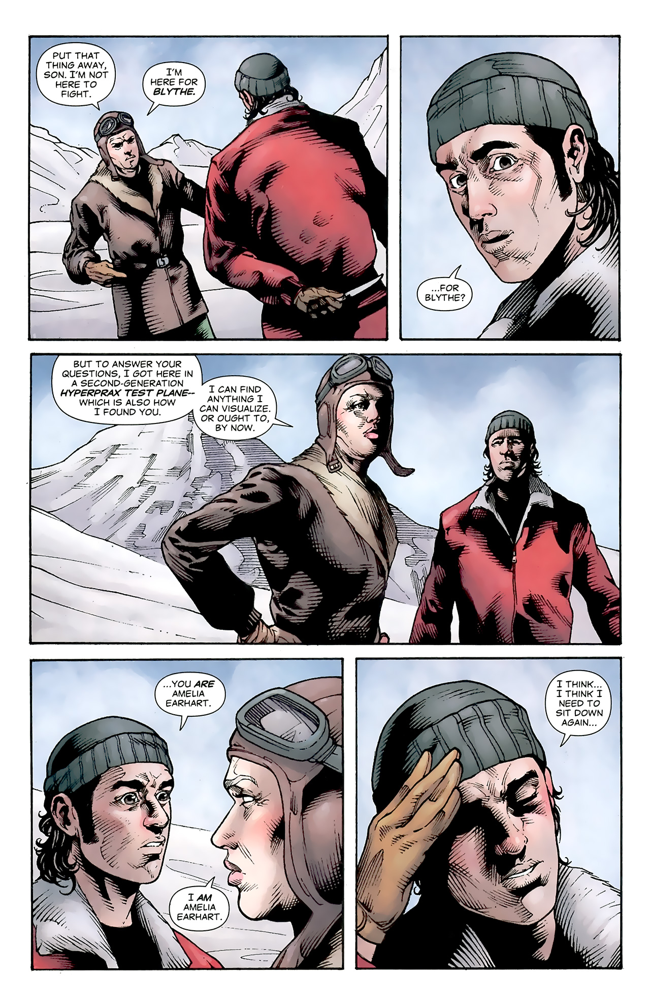Read online Air comic -  Issue #16 - 7