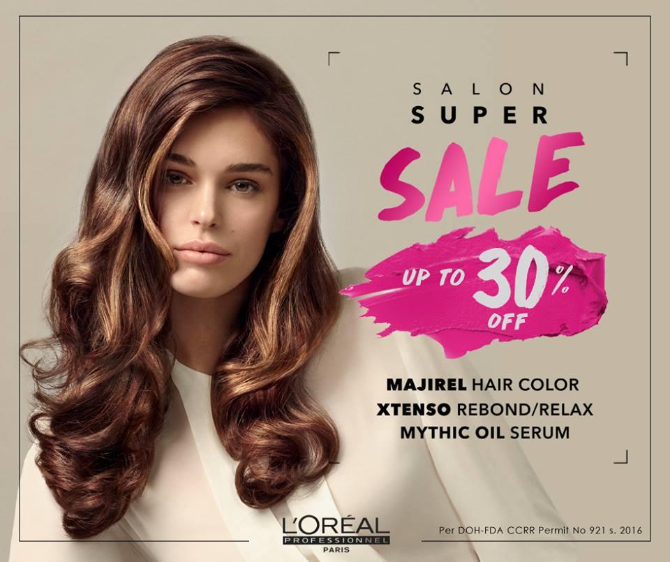 Manila Shopper Loreal Professionnel Salon Super Sale Feb 2017