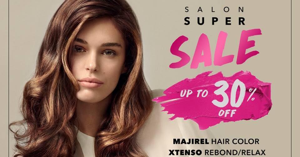 Manila shopper l oreal professionnel salon super sale for Acqua salon trinoma