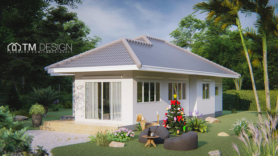Traditional, simple and rustic! These three things often describe bungalow houses. We all know that bungalow house design is the most suitable and common type of houses in rural areas!  However, with many new and advanced construction technology nowadays, bungalows begin to come in a variety of forms too. In other words, bungalow house design can now compete with other new and emerging house designs.  This type of houses also evolves and embrace modernity and that now we called modern or contemporary bungalows! In this article, we will give you 10 bungalows of different styles that will allow you to enjoy simple good living. These new and modern bungalow house design can be your house goals this year!