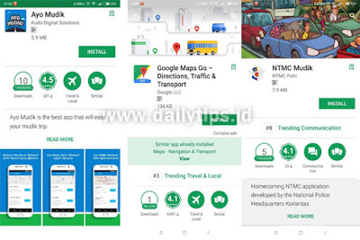 4 Aplikasi Android Pantau Arus Jalur Mudik