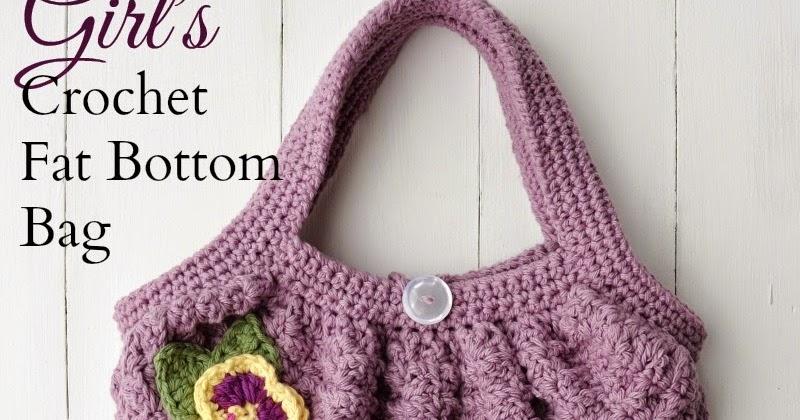 Over The Apple Tree Girls Crochet Fat Bottom Bag