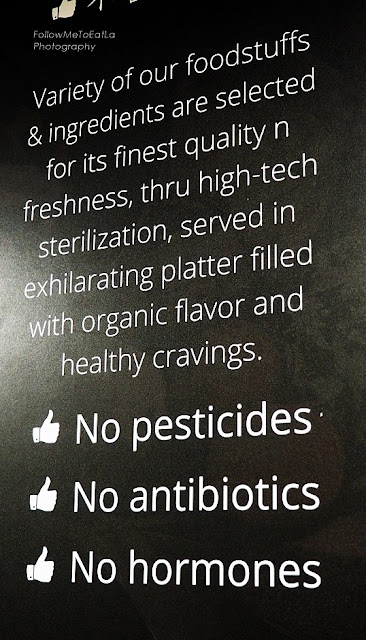 No Pesticide, No Antibiotics, and No Hormones