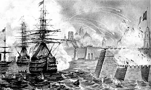 La batalla de San Juan de Ulúa