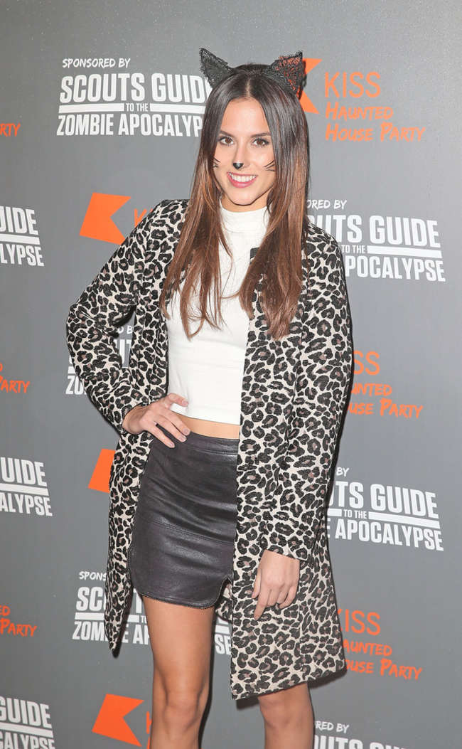 British Journalist Lucy Watson At Fm Haunted House Party Images, Photos, Reviews