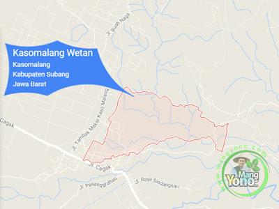 PETA : Desa Kasomalang Wetan, Kecamatan Kasomalang