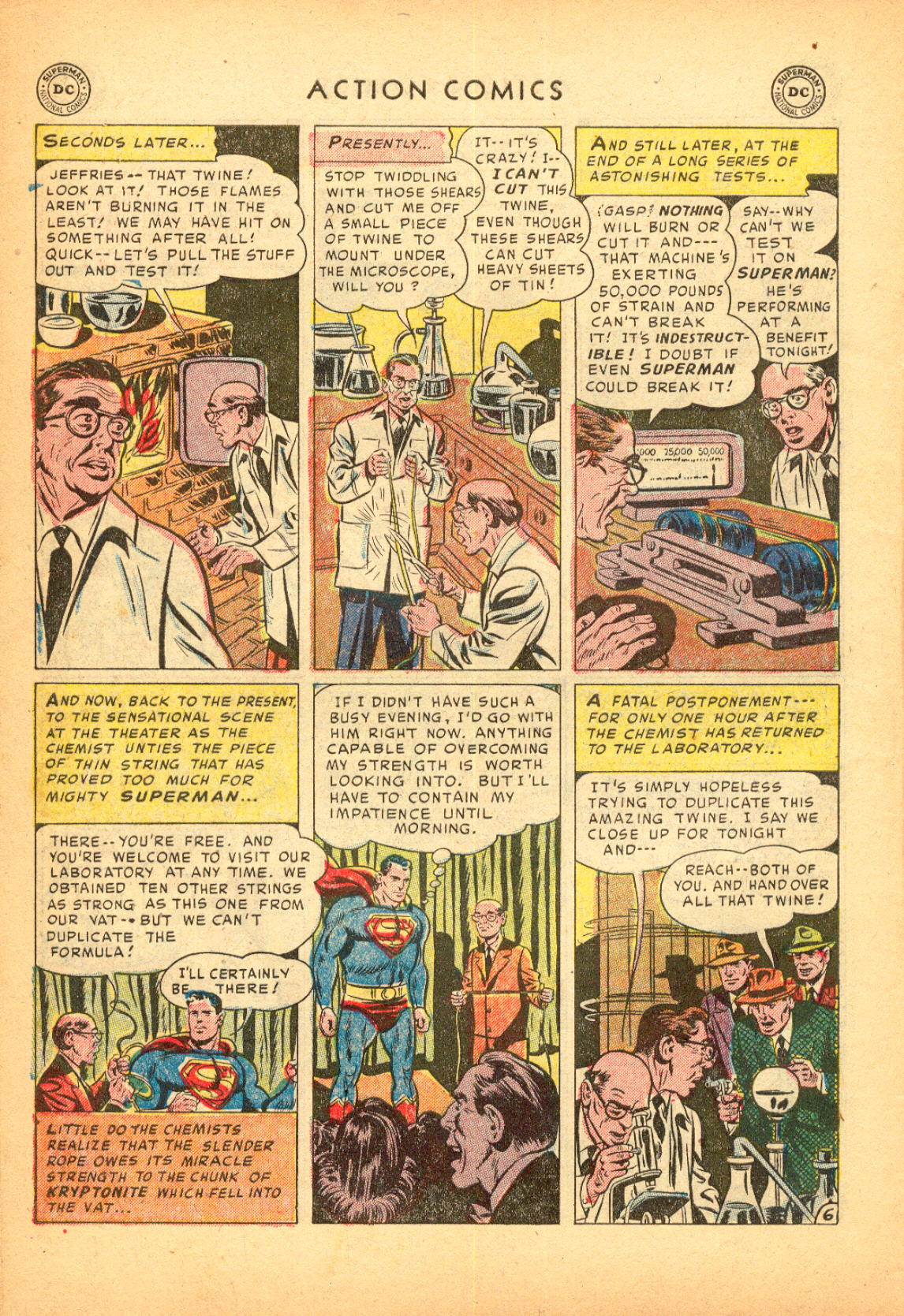 Read online Action Comics (1938) comic -  Issue #174 - 8