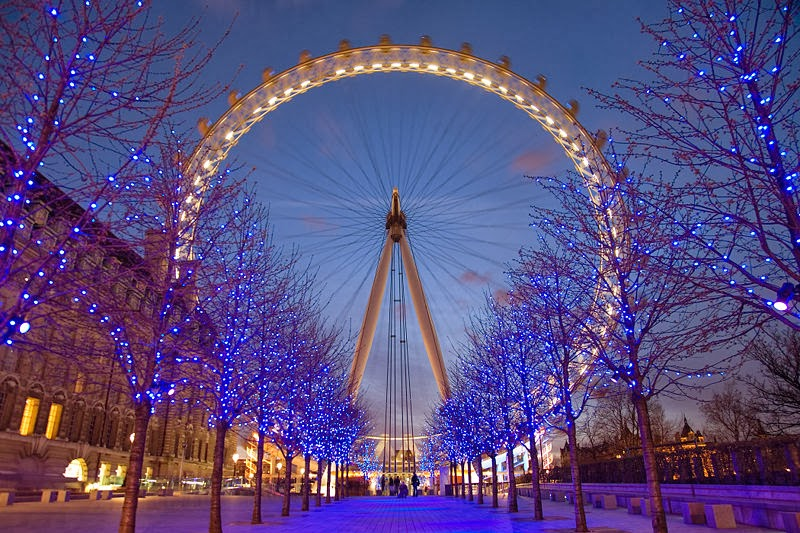 Roda Gigante London Eye Londres Inglaterra