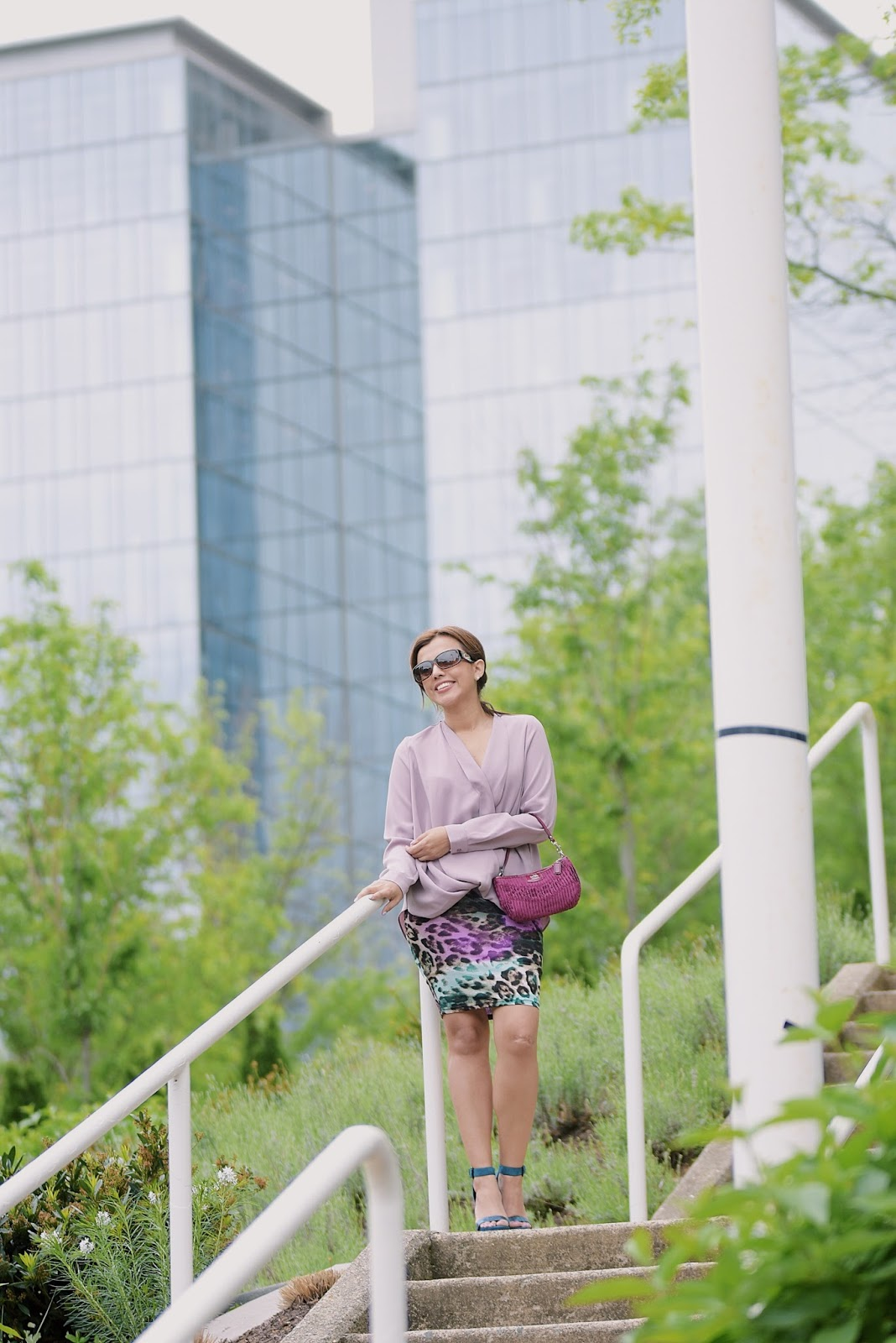 Animal Print And Mauve For The Weekend-shoptobi-mariestilo-lookoftheday-forever21-fashionblogger-streetstyle