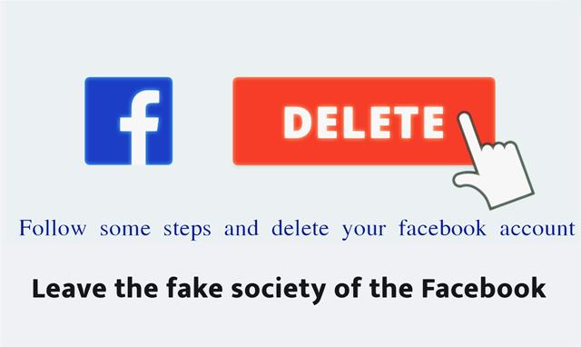 delete facebook account permanently immediately