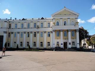 Житомир. Площадь Королёва. Административное здание