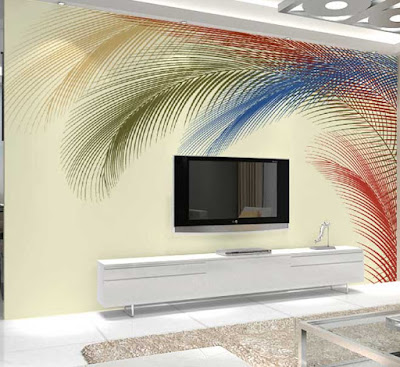 amazing 3D wallpaper for living room walls 3D wall murals images designs (13)