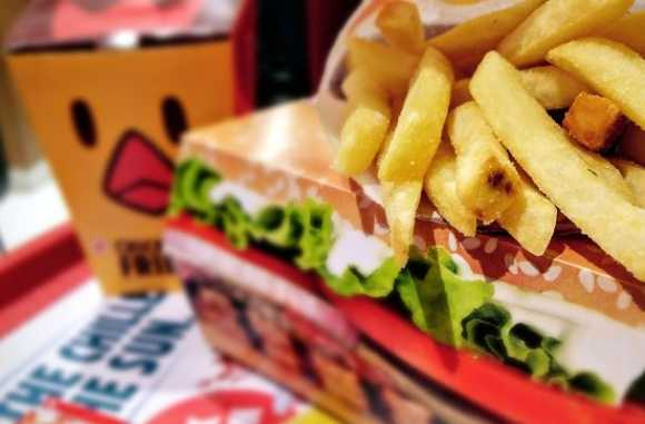 Embalagem de fast-food cancer e diabetes