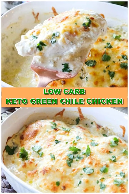 LOW CARB – KETO GREEN CHILE CHICKEN